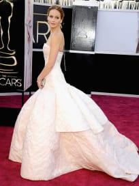 Jennifer Lawrence Oscar Dress