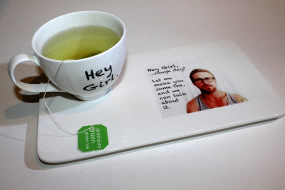 Ryan Gosling Tea Set