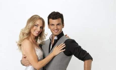 Chynna Phillips and Tony Dovolani