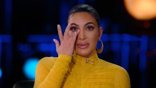 Kim Kardashian Cries on Netflix
