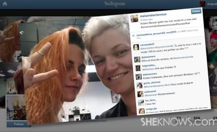 Kristen Stewart Dyes Hair Orange: React Now!