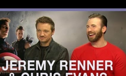 Jeremy Renner and Chris Evans: Black Widow is a Slut and a Whore!