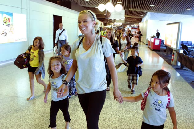 Kate Gosselin and Children
