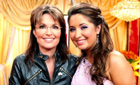 Sarah and Bristol Palin