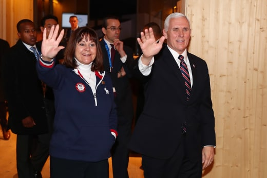 Mike Pence and Mother
