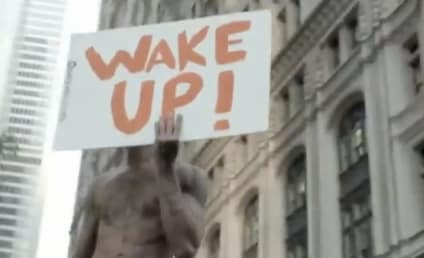 Miley Cyrus Stands Up Occupy Wall Street in New Video
