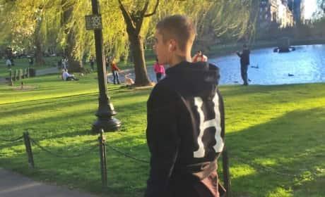 Justin Bieber in Boston
