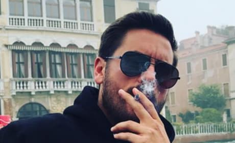 Scott Disick, Smoking in Venice