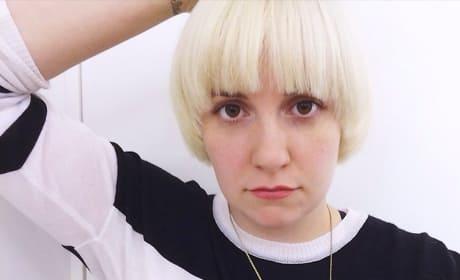 Do you like Lena Dunham with blonde hair?