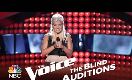 Allison Bray - Merry Go Round (The Voice Audition)