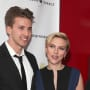 Hunter and Scarlett Johansson