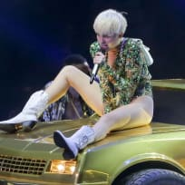Miley Rides Dirty