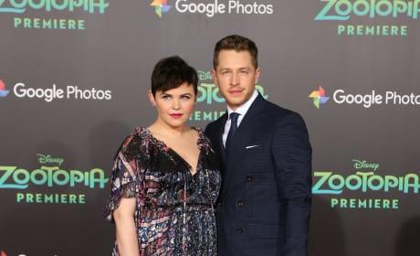 Ginnifer Goodwin & Josh Dallas: 'Zootopia' Premiere