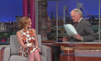 Lindsay Lohan on Letterman: Aren't You Supposed to Be in Rehab?