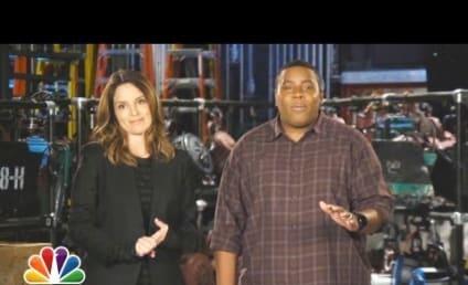 Tina Fey Mocks Nip Slip, Goes Topless in SNL Promo