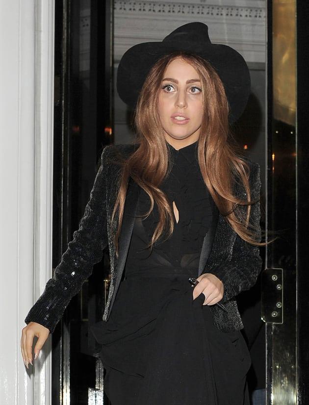 Lady Gaga Sans Makeup