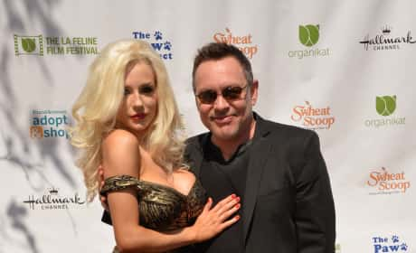 Courtney Stodden and Doug Hutchison red carpet