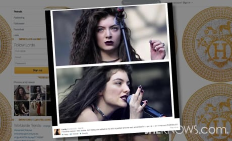 Lorde vs. Photoshop