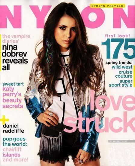 Nina Dobrev Nylon Cover