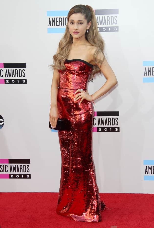 Ariana Grande at American Music Awards