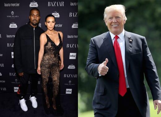 Kimye-Donald Trump
