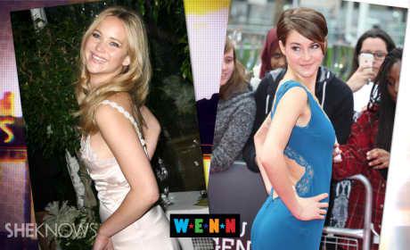 Shailene Woodley Scoffs at Jennifer Lawrence Comparison