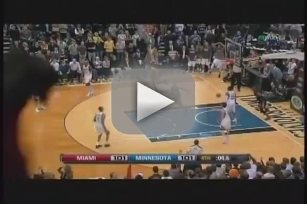 LeBron James-Dwyane Wade Game-Winning Alley-Oop