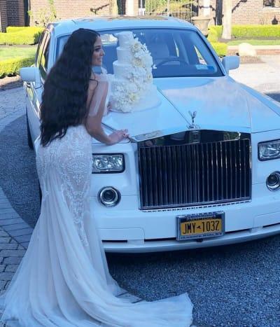 Sammi Giancola Does a Pre-Wedding Bridal Shoot