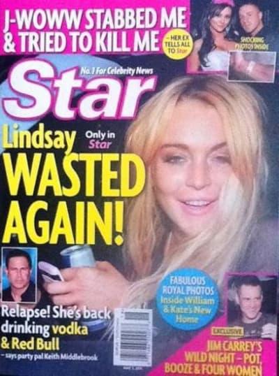 Lindsay Lohan WASTED Again!