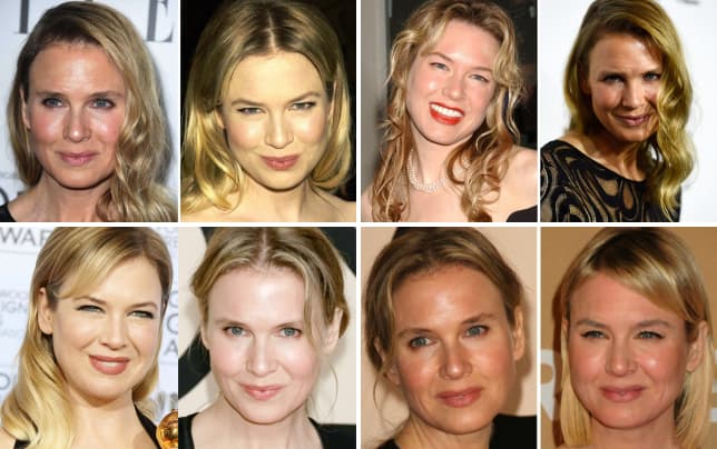 Renee Zellweger Face Transformation Insecurities Abound