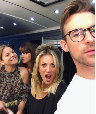 Kaley Cuoco Brad Goreski Party Instagram