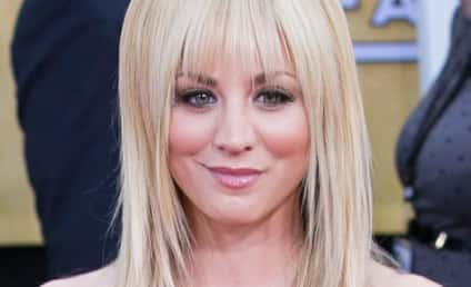 Kaley Cuoco: New Hairdo Caused By Forehead Gash!