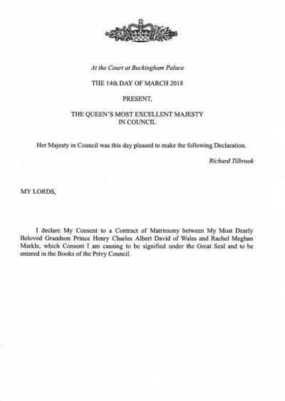 queen statement