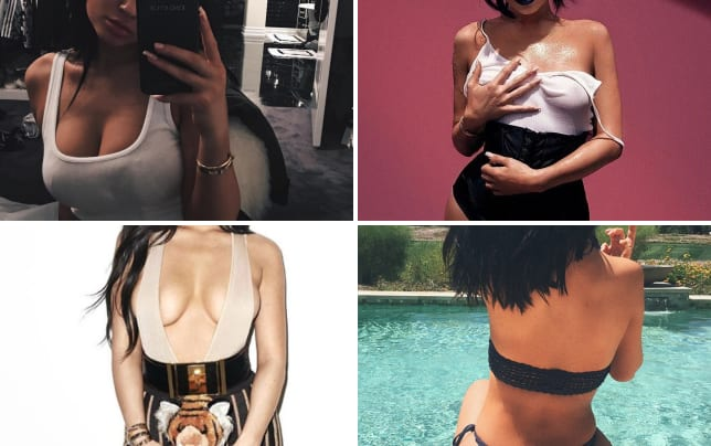 Kylie jenner seduces followers