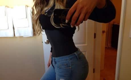 Khloe Kardashian Waist Training Photo