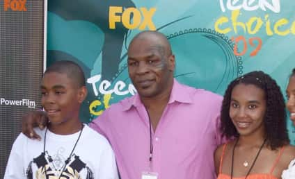 Daughter of Mike Tyson Found Hanging From Cord; In Critical Condition