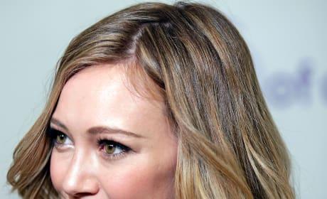 Hilary Duff Up Close