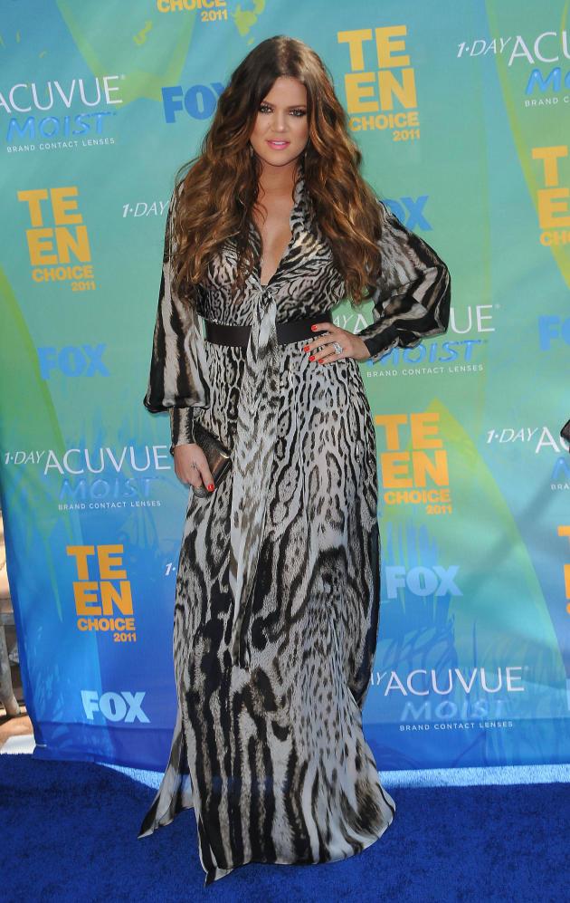 Khloe Kardashian at the TCAs