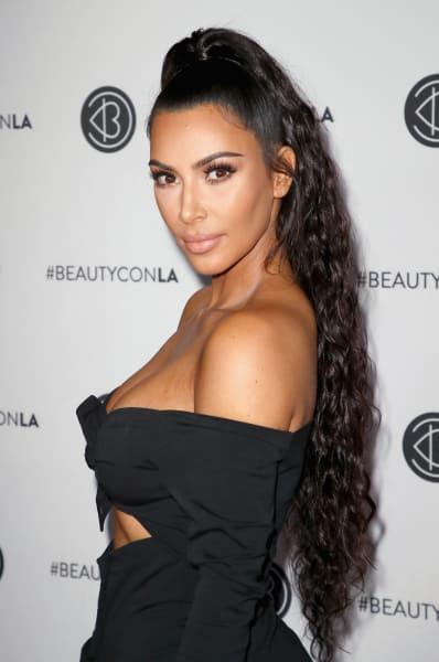Kim Kardashian Profile Shot