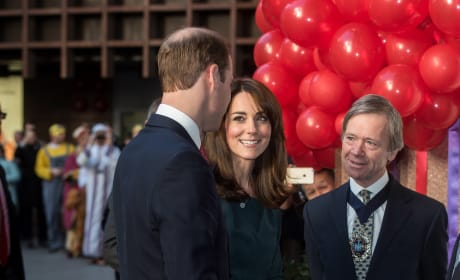 Prince William and Kate Middleton: ICAP Charity Day 2015