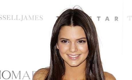 Kendall Jenner Posts Video of Self Driving
