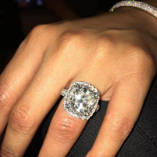 Nick Minaj's (Maybe Engagement Ring)