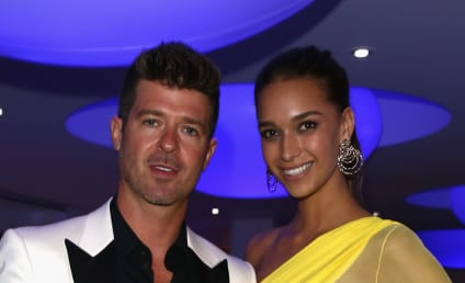 April Love Geary: Pregnant with Robin Thicke's Baby!