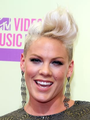 Miley Cyrus Vs Pink Celebrity Mohawk Off The
