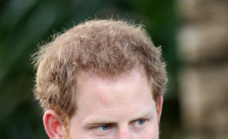 Prince Harry Turns Serious