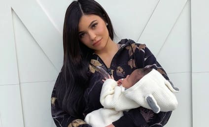 Kylie Jenner Shows Off Stormi Webster, Sweet Baby Cheeks