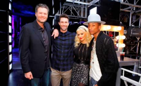 The Voice Season Eight Cast Members