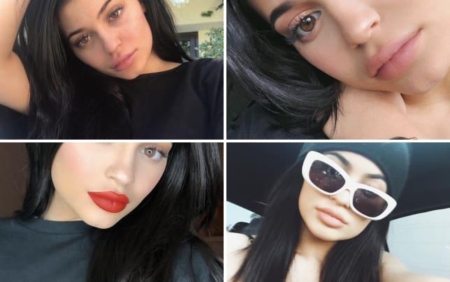 Kylie jenner bare face