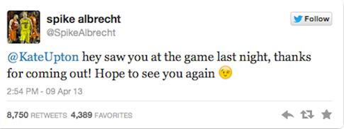 Spike tweet