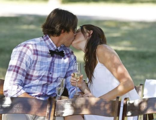 Ben Flajnik, Courtney Robertson Kiss